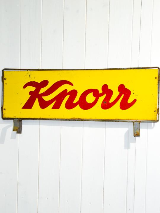 Popolare Targa Vintage Knorr - CheAntico SU99